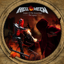 Обложка альбома Helloween «Keeper of the Seven Keys - The Legacy» (2005)