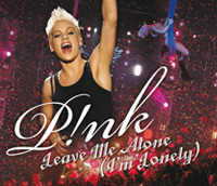Обложка сингла Pink «Leave Me Alone (I'm Lonely)» (2007)
