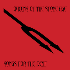 Обложка альбома Queens of the Stone Age «Songs for the Deaf» (2002)