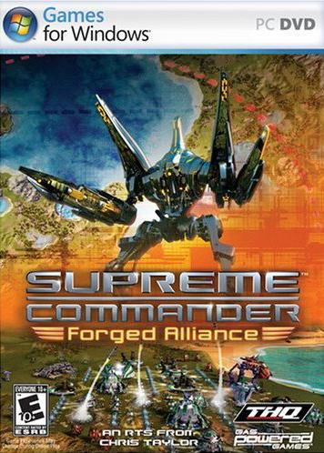 скачать игру суприм командер Forged Alliance - фото 5