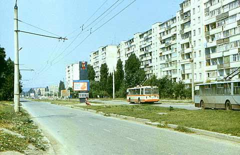 Грозненский троллейбус