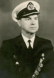 Капитан «Советского Союза» в 1965-1977 гг.Герой Социалистического Труда Гришин Б.А.