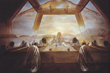 Тайная вечеря (картина Сальвадора Дали) — Википедия