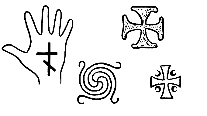 Файл:Avarian old crosses and spiral-type swastika.PNG