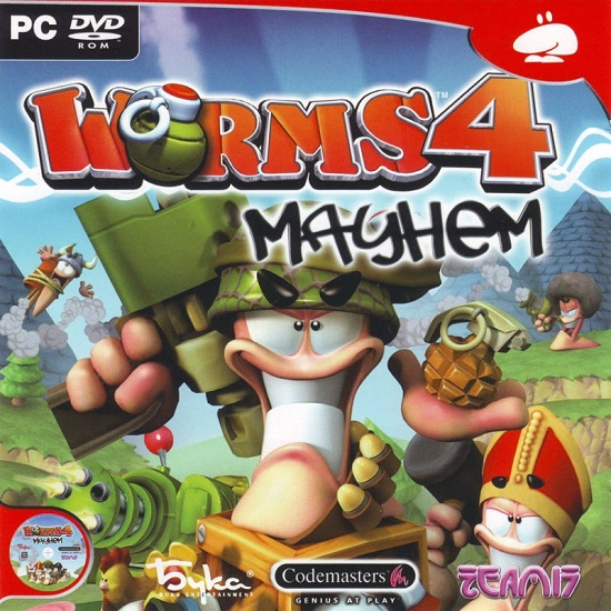 Обложка Worms 4: Mayhem (PlayStation 2)