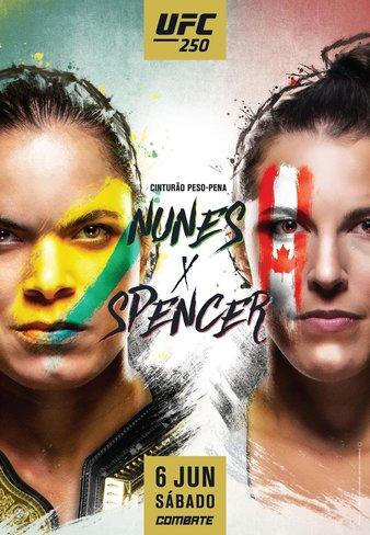 Постер к фильму UFC 250 Нунис vs Спенсер