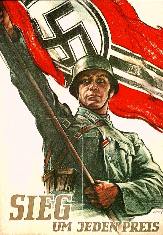 """Image result for фото гитлеровский плакат в германии"""""""