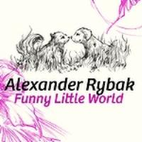 Обложка сингла «Funny Little World» (Александра Рыбака, 2009)