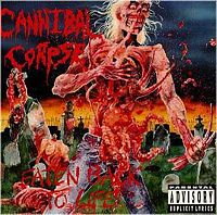 Обложка альбома Cannibal Corpse «Eaten Back to Life» (1990)