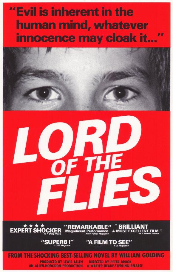 lord flies man inherently evil