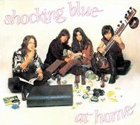 Обложка альбома Shocking Blue «At Home» (1969)