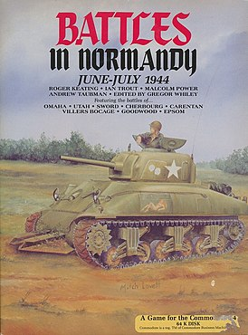 Battlef in Normandy cover 1987.jpg