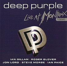 Обложка альбома Deep Purple «Live at Montereux 1996» (2006)