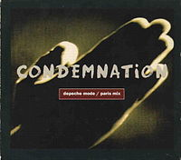 Обложка сингла «Condemnation» (Depeche Mode, 1993)