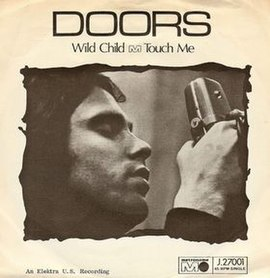 Обложка сингла The Doors «Touch Me» (1968)