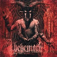 Обложка альбома Behemoth «Zos Kia Cultus (Here and Beyond)» (2002)