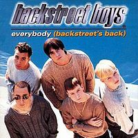 Обложка сингла «Everybody(Backstreet's back)» (Backstreet Boys, 1997)