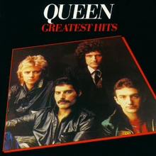 Обложка альбома Queen «Greatest Hits» (1981)