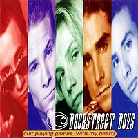 Обложка сингла «Quit playing games (with my heart)» (Backstreet Boys, 1996)
