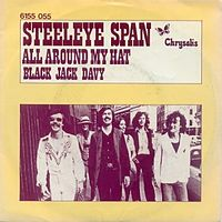 Обложка сингла «All Around My Hat» (Steeleye Span, 1975)