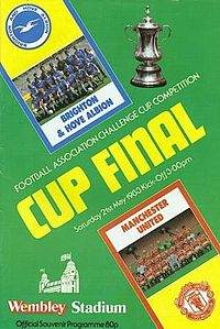 1983 FA Cup Final programme.jpg