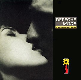 Обложка сингла Depeche Mode «A Question of Lust» (1986)