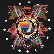 Обложка альбома Hawkwind «In Search of Space» (1971)