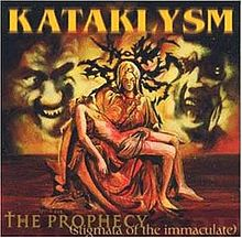 Обложка альбома Kataklysm «The Prophecy (Stigmata of the Immaculate)» (2000)