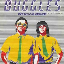 Обложка сингла The Buggles «Video Killed the Radio Star» (1979)
