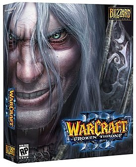 Обложка Warcraft III: The Frozen Throne