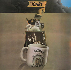 Обложка альбома The Kinks «Arthur (Or the Decline and Fall of the British Empire)» ((1969))
