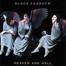 Обложка альбома Black Sabbath «Heaven and Hell» (1980)
