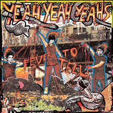 Обложка альбома Yeah Yeah Yeahs «Fever to Tell» (2003)