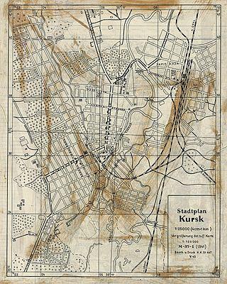 Схематический план города