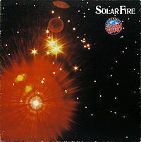 Обложка альбома Manfred Mann's Earth Band «Solar Fire» (1973)