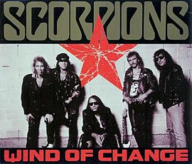 Обложка сингла Scorpions «Wind of Change» (1991)