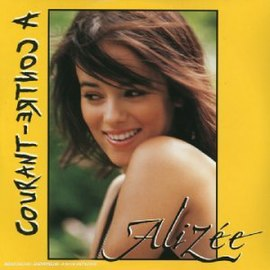 Обложка сингла Alizée «À contre-courant» (2003)