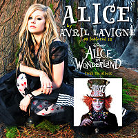 Обложка сингла «Alice» (Avril Lavigne, 2010)