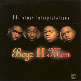 Обложка альбома Boyz II Men «Christmas Interpretations» (1993)