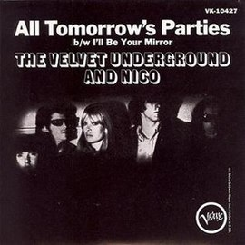 Обложка сингла The Velvet Underground and Nico «I'll Be Your Mirror» (1966)