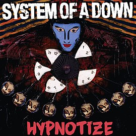 Обложка альбома System of a Down «Hypnotize» (2005)