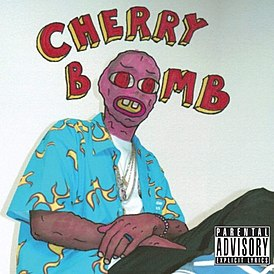 Обложка альбома Tyler, The Creator «Cherry Bomb» (2015)