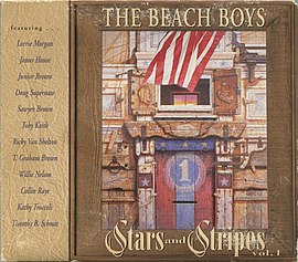 Обложка альбома The Beach Boys «Stars and Stripes Volume 1» (1996)