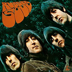 Обложка альбома The Beatles «Rubber Soul» (1965)