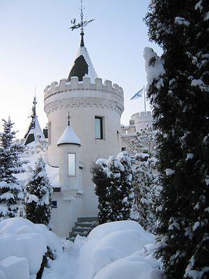 Замок Белого Слона. Дизайн М. Н. Колотило