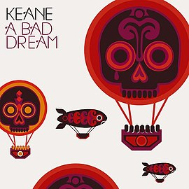 Обложка сингла Keane «A Bad Dream» (2007)
