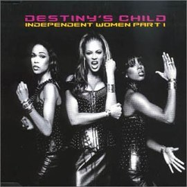 Обложка сингла Destiny's Child «Independent Women» (2001)