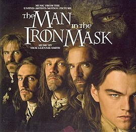Обложка альбома «The Man in the Iron Mask (Original Soundtrack)» (1998)
