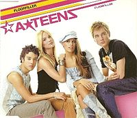 Обложка сингла «Floorfiller» (A*Teens, 2002)