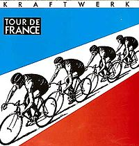 Обложка сингла «Tour de France» (Kraftwerk, 1983)